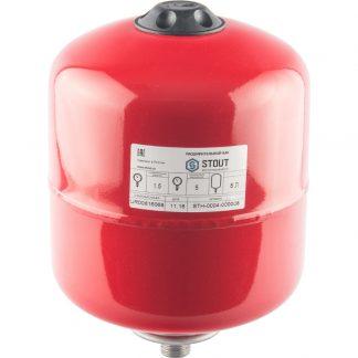 Расширительный бак для отопления STOUT на 8 литров