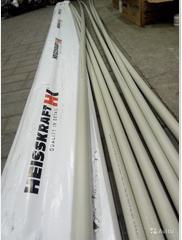 Труба полипропиленовая толстостенная серая Heisskraft KraftPipe PN20 ( SDR 6)