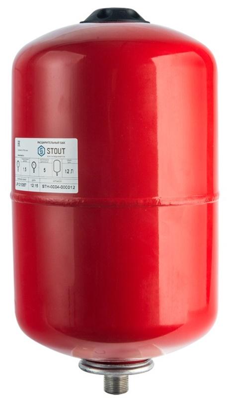 Расширительный бак для отопления STOUT на 18литров